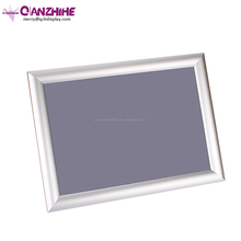 "UK 22""x28"" a3 Square Corners Silver Wide-Edge Front Loading aluminum extrusion snap frame"