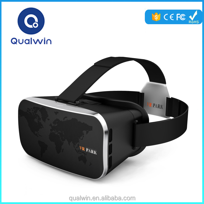 Qualwin Upgrade VR Park Baofeng 3d Virtual vr Reality Sex MP4 Player Video Glasses Viewing 3D Film