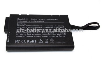 DR202 PS28 laptop battery medical use laptop battery 11.1V 7800mAh