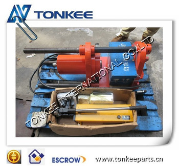 100T Hydraulic Track pin press, Portable Track pin press, Master pin press