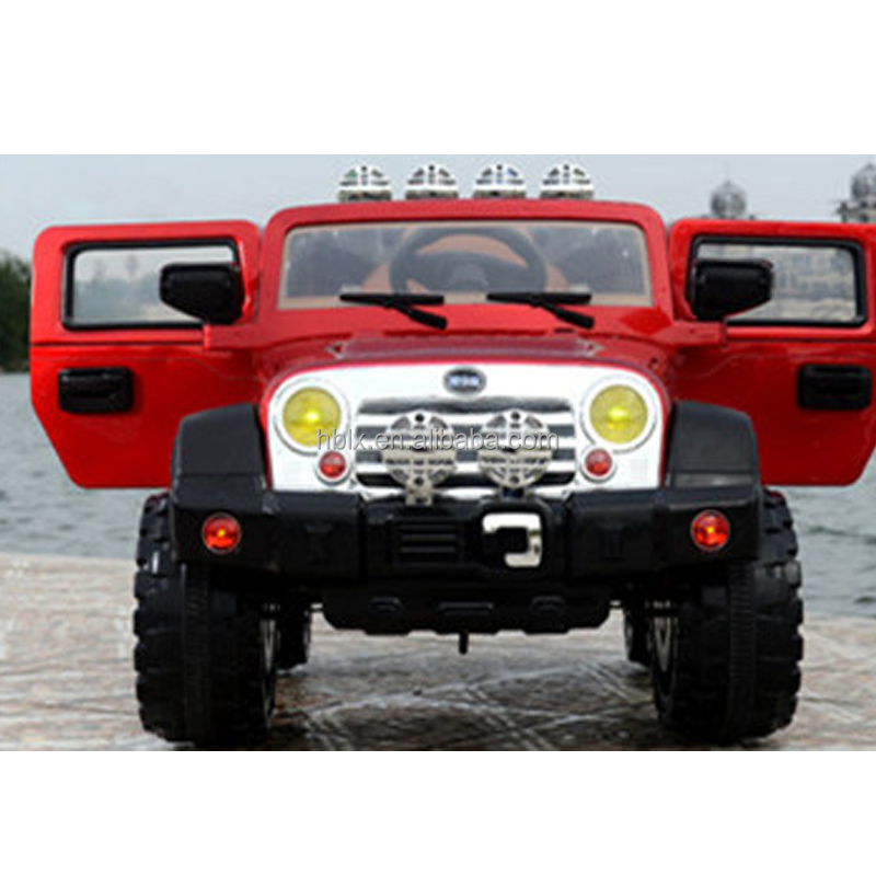 Plastic Kids Electric Jeep Ride On Big 12V SUV Car