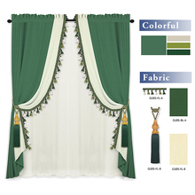 CL025 Factory Wholesale Comforatble and Eco friendly Blackout Window Curtain