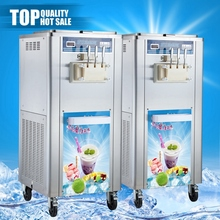 Jiangmen sus304 soft ice cream machine, soft ice cream machinery trader
