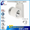 Clothing Stores Focus Track Led Spot Light 6000K 25W 30W Focuable Cob Led Track Spot Light
