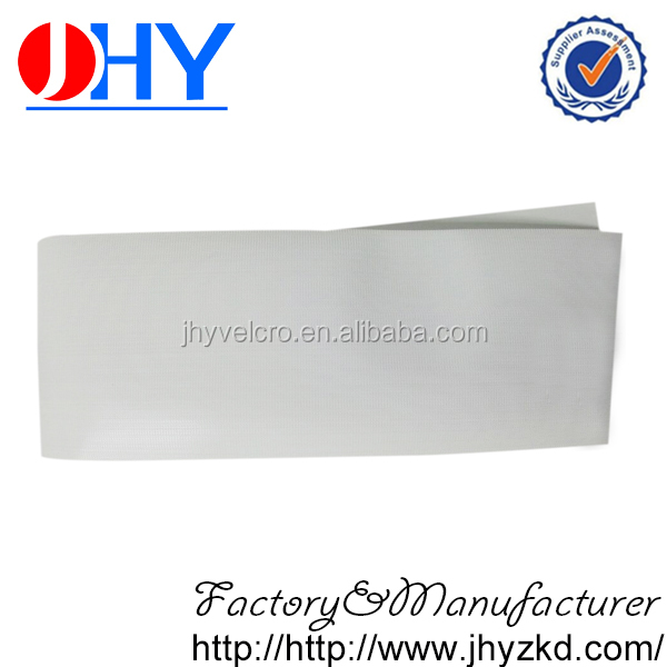 Micro thin plastic hook and loop moulded injection hook