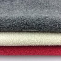 100% polyester french terry fleece fabric