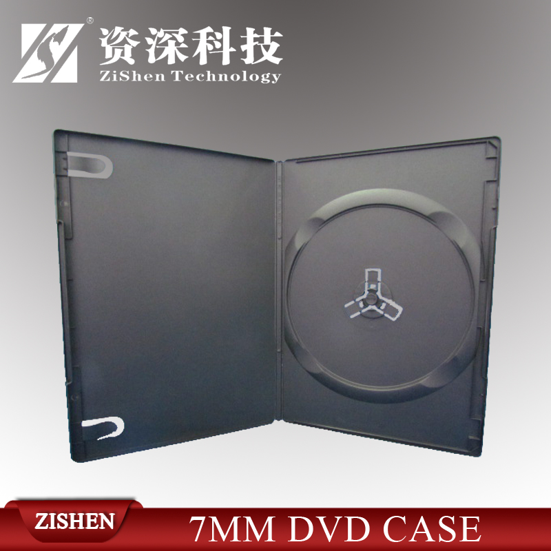 High Quality Black Plastic Dvd Holder