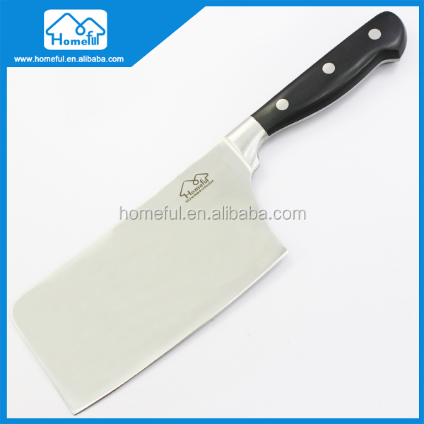 "7"" Vegetable Cleaver Stainless Steel Meat Cutter/Chopper/Butcher Professional Chef Knife for Home Kitchen"
