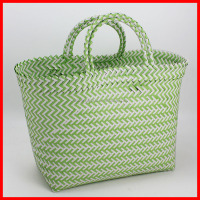 100%handmade colorful woven ladied handbag