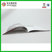 Paper brochure, advertising booklets printing, restaurant menu book