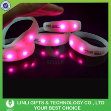 Night Bar Music Activated Led Running Bracelet Flashing Bracelet