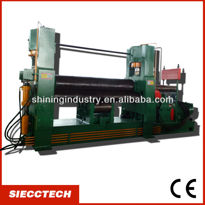 "INT'L BRAND:""SIECCTECH""- <strong>W11S</strong> <strong>50X3000</strong> HYDRAULIC METAL PLATE ROLLER <strong>MACHINE</strong>"