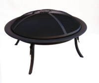 "Popular 29"" Portable Round Patio Fire Pit outdoor"