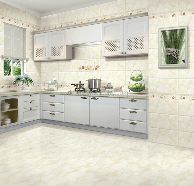 Interior tiles kitchen or other interior usage glazed for Kitchen design in nepal