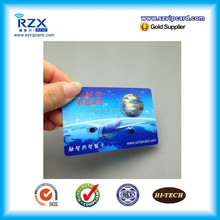 Glossy finish personality design standard CR80 PVC 3D visiting card