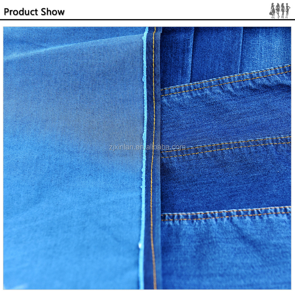 Perfect Stretch light weight combed cotton denim fabrics