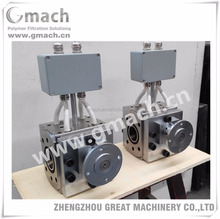 Melt metering pump for plastic PP filament extrusion line
