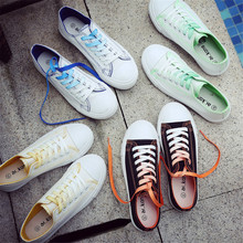 High Quality Classic Women Flat Vulcanized Casual Private Label Flat Casual Student Canvas Shoes