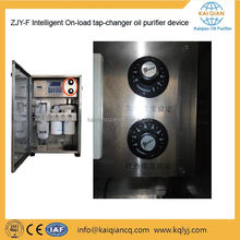 High Automatic Tap Changer Used Oil Filtering Machine