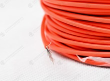 Heat resistant silicone insulated flexible cables,2.5mm2 Flexible silicone Cable H07VV-K