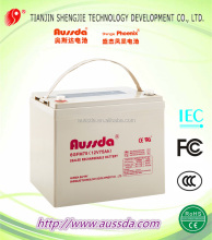 Germany Standard Aussda Maintenance Free 12V lead acid storage battery UPS