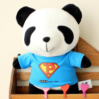 Three Bear 50cm Stuffed Superman Cute Panda Plush Toy for Kids