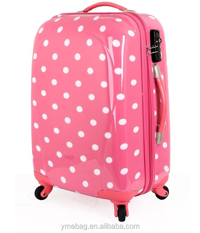 Girls Pink Carry On Travel Luggage/suitcase/bag For High School ...
