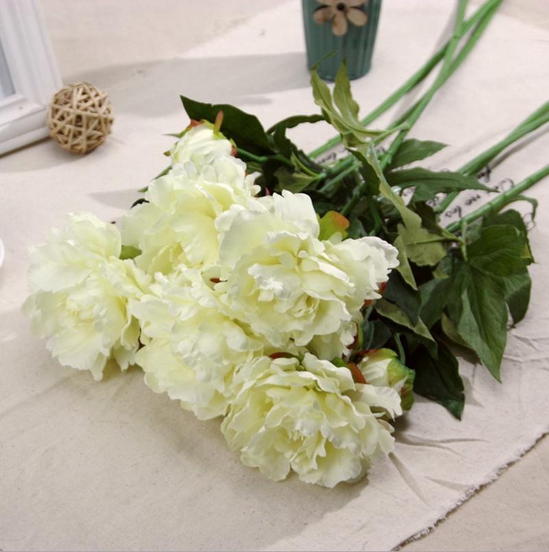 Wholesale Artificial Silk Flowers Peony Flowers Artificial Silk