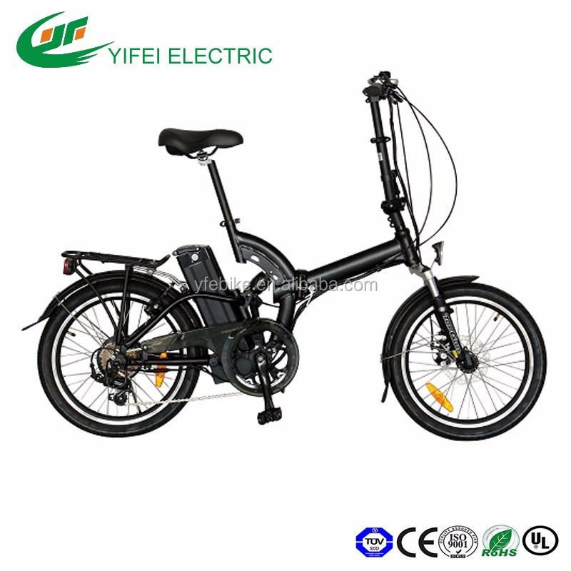 New design hot selling 20 inch slim small MINI frame cycling PAS folding city bike electric bicycle(TDN05Z)