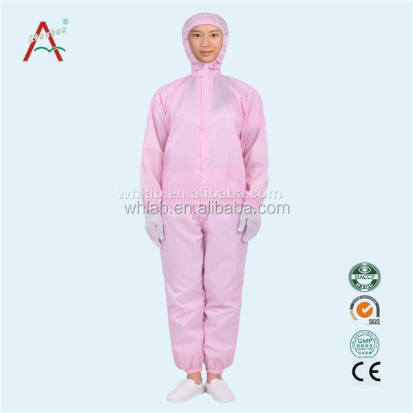 cleanroom suit workwear coverall
