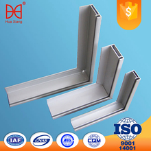 Factory price extruded aluminum profiles for solar panel with customerized color
