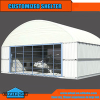 High quality steel prefab building shipping containers shed tent shelter canopy