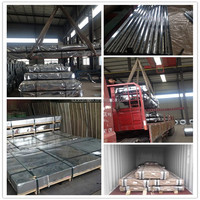 Roof material /galvanized corrugated steel sheet/zinc coating 60-180g