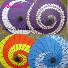 Hand Paint flower japanese decoration parasol