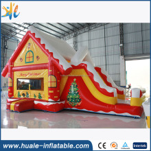 New design inflatable slide, inflatable Christmas slide