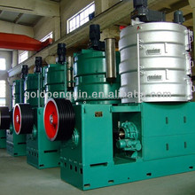 China good quality oil equipment bean oil press machine installed for a big edible oil plant
