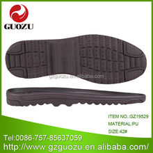 black slippers sandals pu soft shoe sole for men