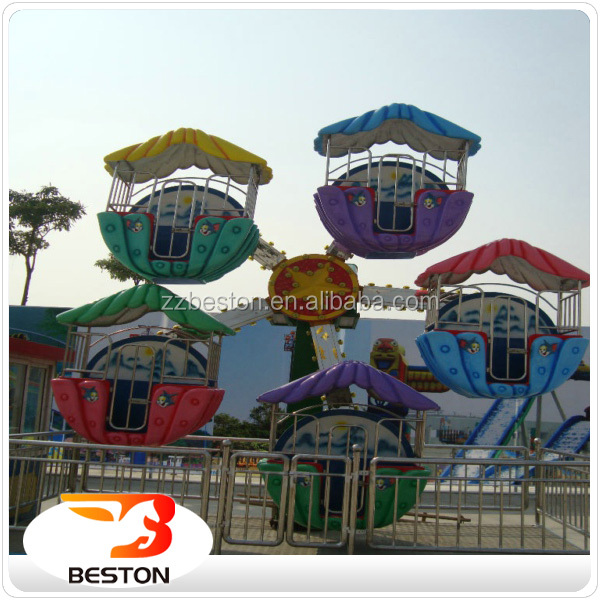 2017 best quality Outdoor carnival games for adults mini ferris wheel with BV CE approved