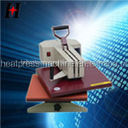 Hengxing QX-A3 Manual shake head heat press machine Top quality heat transfer oil