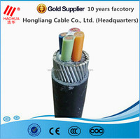 LOOK : Overhead XLPE insulated ABC Cable/Aerial Bundle Cable/Service Drop Wire