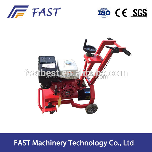 Road surface cutting concrete road groove machine
