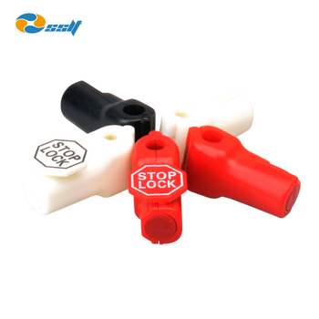 Factory price single prong stop lock for display hook