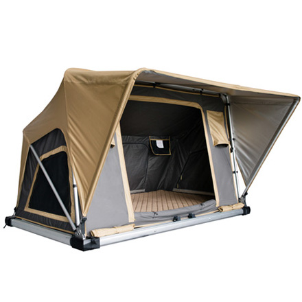 3 Person Waterproof Canvas Rooftop Campers Camping <strong>Tent</strong> For Sale