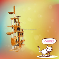 Whisker city cat tree with hammock play toys