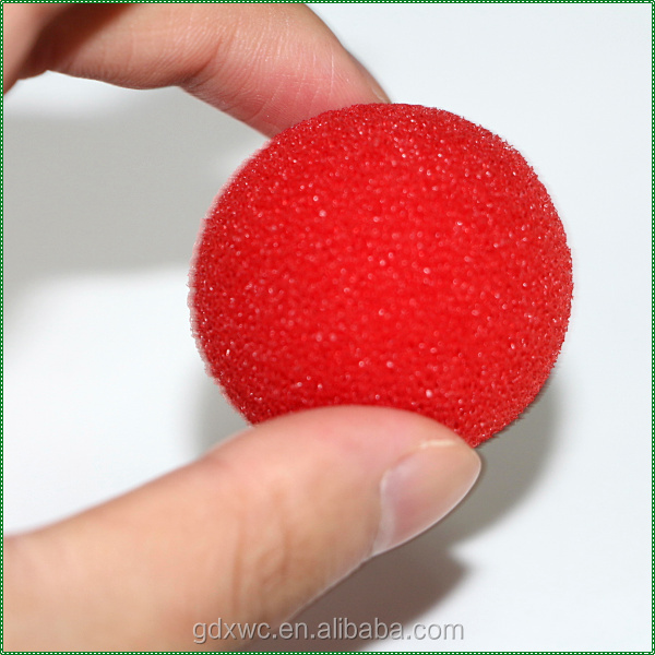 half circle high elasticity odorlessness cleaning rubber sponge ball