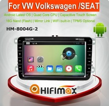 HIFIMAX Android 5.1.1 car touch screen dvd player for volkswagen VW passat B5 B6 B7/android car dvd for vw passat