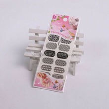New Design 3D nail art stencil sticker / Acrylic Mold For 3D Nail Art Decoration