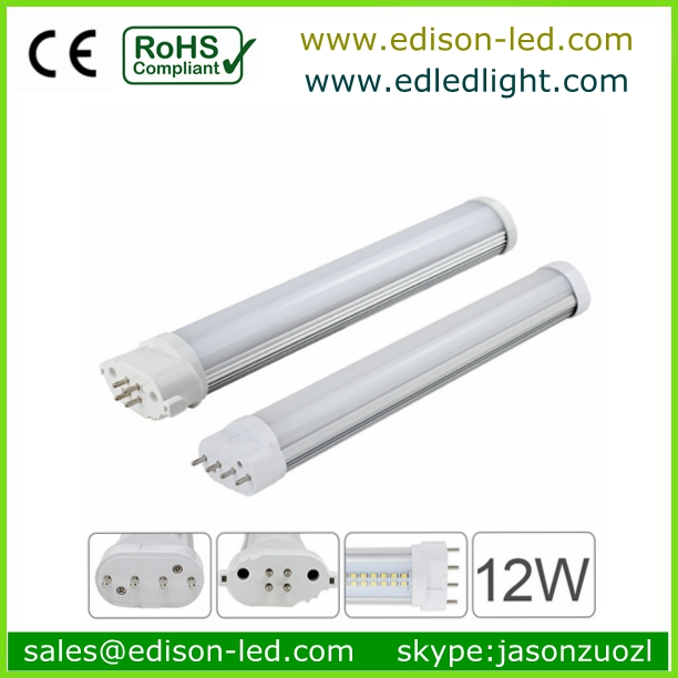 fluorescent tube,2G11 LED led tube light 15W replace philps master PL-L and water bubble light tubes