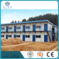 china factory supply prefab house prefabricated steel building high class