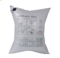 Inflatable container PP Woven dunnage air bags with printing logo , air bags with fast flow valve